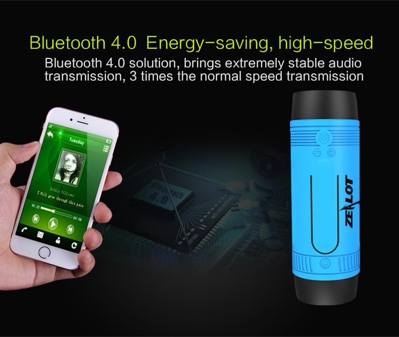 S1 multi-function bluetooth speaker - ZEALOT